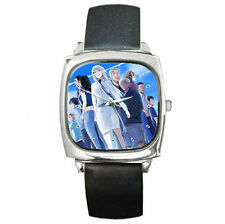 Jormungand Leather Wrist Watch perfect boys girls anime watch