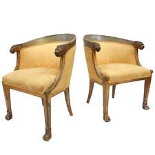 Italian Neoclassical Chairs (Pair)