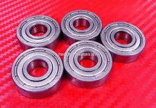 [QTY 10] S608ZZ (8x22x7 mm) 440c Stainless Steel Ball Bearing Bearings 608ZZ