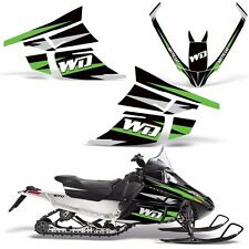 Decal Graphic Kit Arctic Cat F-Series Z1 Sled Snowmobile Accessories Wrap WD GRN