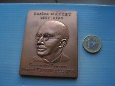 belle medaille   lucien mallet attribuee en 1992
