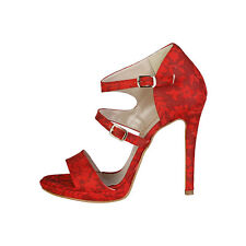 Made in Italia - sandalias Iride rojo -altura Tacón 11 5cm- 37