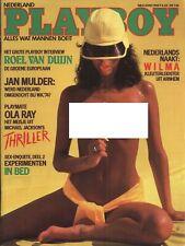 Dutch Playboy Magazine 1984-06 Ola Ray, Barbara Edwards, Wilma Bensings ...