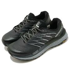 Merrell Rubato Black Grey Vibram Men Trail Running Shoes Sneakers J135241