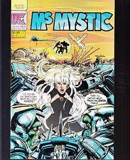 MS MYSTIC  #2 1984 PC -NEIL ADAMS-c/a/SCRIPT SHI-FI SUPERHERO....VF+