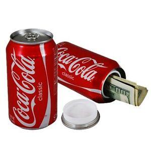 Coca-Cola Soda Diversion Hidden Safe Secret Stash Box Home Security Container