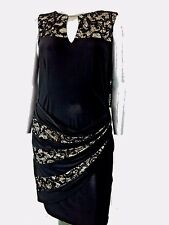 women's  R&M RICHARDS DRESS Size 20W OCCASION FORMAL Lace embellished  NWT