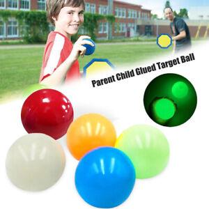 Sticky Globbles Balls Toy Fluorescent Sticky Wall Balls Anti-Stress Target Ball