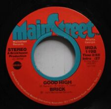 Soul 45 Brick - Good High / Music Matic On Mainstreet Records