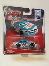 RARO Disney pixar cars 2015 PONCHY WIPEOUT Bumper save 90 mattel piston cup 3/18