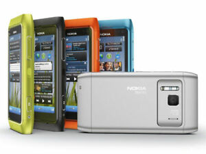 "Original Nokia N8 N8-00 Touch Screen 12MP 3G WIFI Bluetooth 16GB ROM 3.5"" Phone"