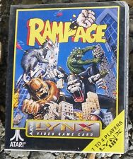 Rampage Atari Lynx 4 Players With Larry the Rat! New Sealed In Box Free Shipping