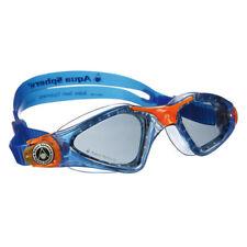 Aqua Sphere Kayenne Junior Goggle  - Smoke Lens - Blue/Orange