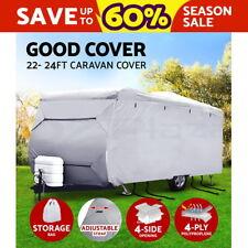 22-24ft Caravan Cover Campervan 4 Layer Heavy Duty UV Carry bag Waterproof