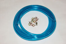 "Blue Fuel Line Hose 1/8"" Id x 1/4"" Od Methanol Tested 5Ft"