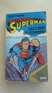 Superman Last Son of Krypton Elliot S. Maggin 1st Ed. 1978  Arrow P/b