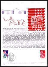 FRANCE ETB 1976 LA FETE zIRKUS CIRCUS CIRQUE CLOWN HARLEKIN ze97