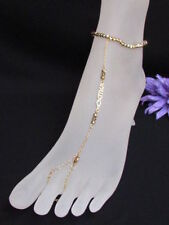 Anklet Foot Chain Jewelry Bracelet Rhinestone New Women Sexy Gold Metals Fashion