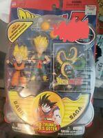 Dragonball Z Babidi Saga TRUNKS + GOTEN Action Figure Irwin bandai jakks