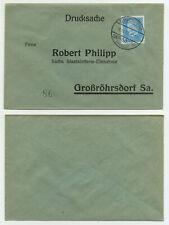 83253 - Beleg Staatslotterie - Bischheim-Gersdorf 10.11.1931 nach Großröhrsdorf