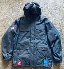 NWT 686 Mens Large Smarty Insulated 3 in 1 Snowboard Jacket Vitamin Water Logo