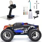 1:10 Nitro Gas 4wd RC Car Two Speed Monster Truck Off Road High Speed Racing