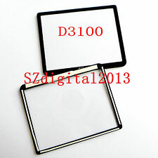 Window Display (Acrylic) Outer Glass For NIKON D3100 Camera Repair Part +Glue