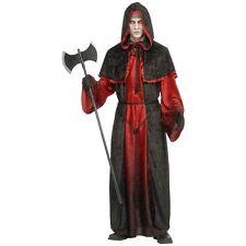 Demon Robe Costume Adult Halloween Fancy Dress