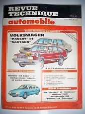 VOLKSWAGEN Passat Santana (CITROËN CX) - Revue Technique Automobile (RTA)