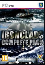 IRONCLADS COMPLETE PACK:  5 COMPLETE GAMES  BRAND NEW SHIPS FAST and SHIPS FREE!