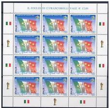 Italia 2006 Minifoglio Italia Campione del Mondo MNH