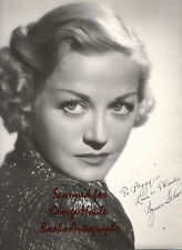 WYNNE GIBSON~10X12~VINTAGE SIGNED PHOTOGRAPH~1935