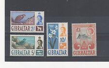 Gibraltar 1960-62 2s - £1 MVLH