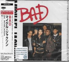 MICHAEL JACKSON - Bad - CDMS - History Tour 97 - Sony Music - ESCA-6614 - Japan