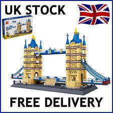 Tower Bridge de Londres Arquitectura bloques de construcción ladrillos educación compatible