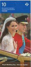 Canada 2011 BK459 #2478 Royal Wedding Day - Unused