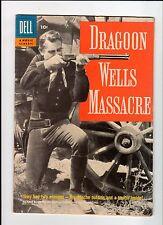 Dell Four Color #815 Movie Classic: Dragoon Wells Massacre 1957 Vg Vintage Comic
