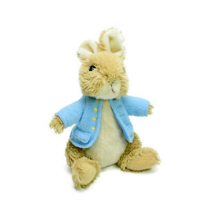 Gund Peter Rabbit Bunny Plush Soft Toy Beatrix Potter Washed Clean 24cm 2014