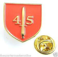 Royal Marines 45 Commando Shield Lapel Pin Badge