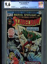 Marvel Spotlight #26 CGC 9.6 (1976) Scarecrow Jon Berk Collection White Pages