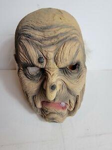 Vintage Celebration Co. Old Man Grandpa 90s Halloween Mask 1995 Latex Person