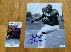 Buster Rhymes signed 8x10 Photo Oklahoma Sooners JSA COA Certificate