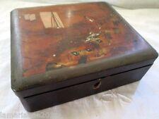 BOX BOITE A BIJOUX COUTURE/THE SUZURIBAKO JAPON  BOIS LAQUE