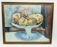 """Pierre Bonnard The Fruit Bowl Vintage Print 19""""x23"""" Fine Art"""
