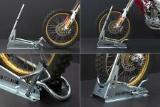 SteadyStand Ace Cross enduro trial  DirtBike wheel chock  Ride in,lock and go !