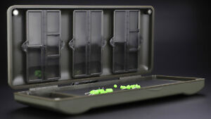 Korda Mini Combi Rigsafe Rig Safe Plastic Rig Magnetic Storage Box - KBOX4