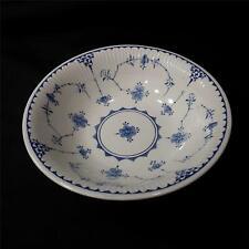 "2 Antique Furnivals OLD CHELSEA BLUE Dessert//Pie Plates 8 1//8/"" 647812 1905-13"