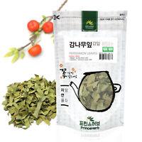 Medicinal Korean Herb, Persimmon Leaves  감나무잎 Dried loose leaves 3oz / 86g