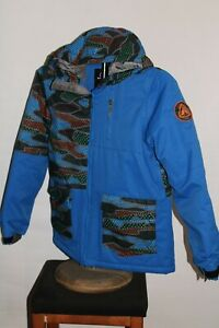 FIREFLY Aquabase BOYS Large L 3Kmm 3Kgr insulated hooded Snowboard/snow Jacket