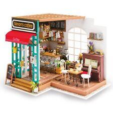 Robotime DIY 3D Greenhouse Model Kit with LED Light Miniature Woodcraft Gift UK